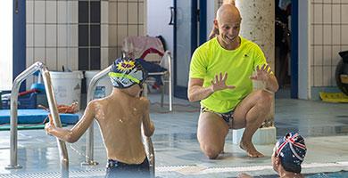 clases natacion zaragoza niños